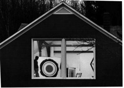 Ugo Mulas, 'Kenneth Noland nella sua casa nel Vermont, South Shaftserbury', 1985