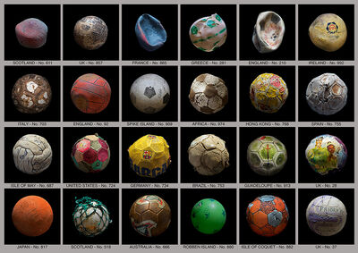 Mandy Barker, 'Recovered Balls', 2013