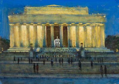 Clive McCartney, 'Evening, Lincoln Memorial, Washington', 2019