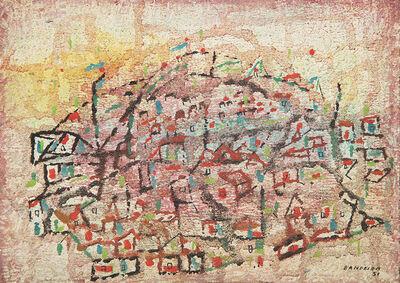 Antônio Bandeira, 'City: A Waking City / Cidade: Uma Cidade Acordada', 1951