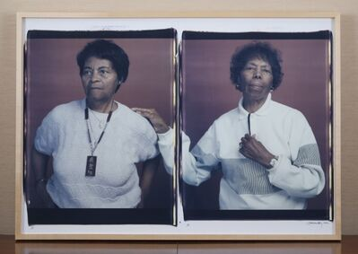 Dawoud Bey, 'Mary and Louise', 1992