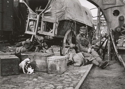 André Kertész, 'Port of Embarkation, Braila, Romania', 1918 / 1960s