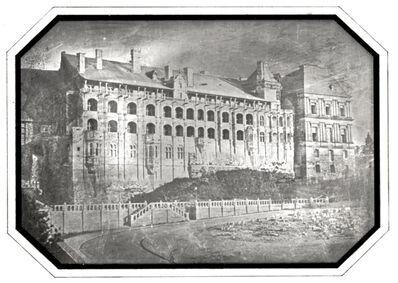 Hippolyte Bayard, 'Chateau de Blois (Rare Back View)', 1845c/1845c
