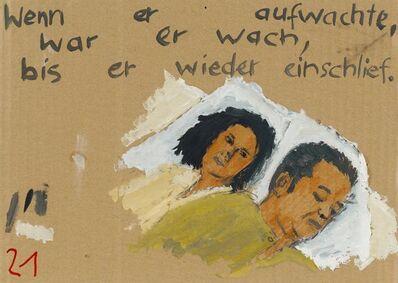 Birgit Brenner, 'Wenn er aufwachte', 2009