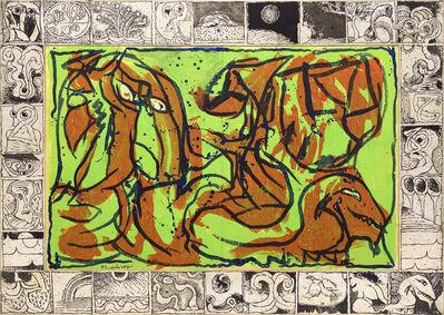 Pierre Alechinsky, 'L'or du rien', 1967-1968
