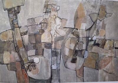 Manuel Hernández Mompó, 'Tres músicos', 1960