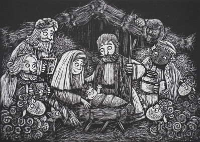 Yailen Sellén, 'Para ilustrar un cuento infantil de navidad / To ilustrate a children's christmas story', 2017