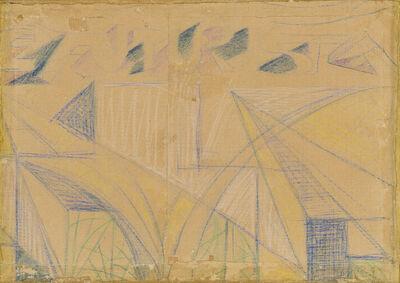 Giacomo Balla, 'Disegno per manifesto', 1923