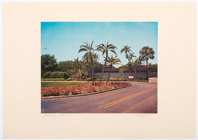 Allen Jones, 'Florida Suite – Garden (B)', 1968