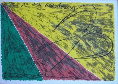 José Bedia, 'Ya Son Las Horas', 1988
