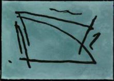 Albert Ràfols-Casamada, 'El passeig del poeta / The Poet's Walk', 1991