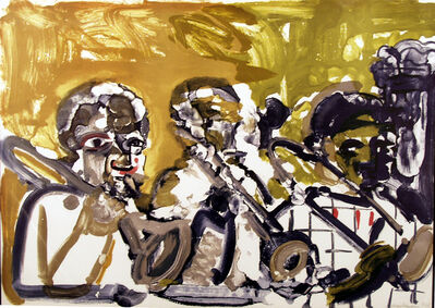 Romare Bearden, 'Brass Section ', 1979