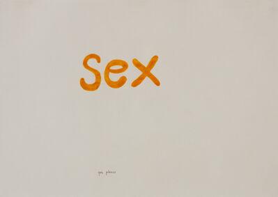 Jonathan Monk, 'Sex (yes please)', 1996