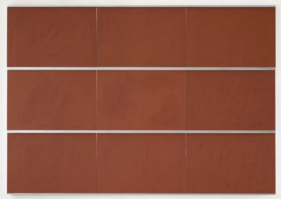 Imi Knoebel, 'Tafel DCCCXLVII', 2014