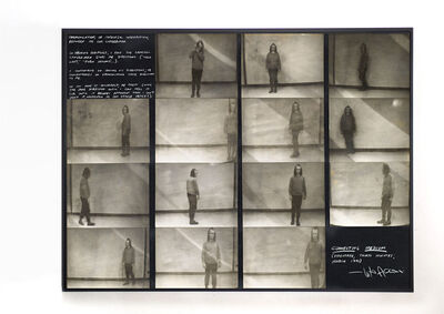 Vito Acconci, 'Connecting Medium', 1971