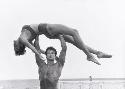 Herb Ritts, 'Sylvester Stallone and Brigitte Nielsen, Long Island', 1987