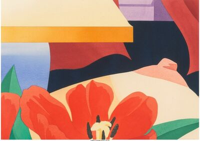Tom Wesselmann, 'Bedroom Tit with Lamp', 1979