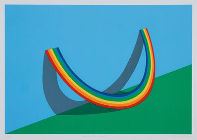 Patrick Hughes, 'Rest of the Rainbow', 1981