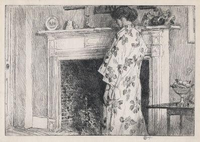 Childe Hassam, 'TheWhite Kimono.', 1915