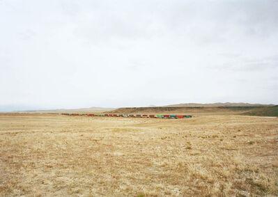 Victoria Sambunaris, 'Untitled (Container train), south of Delta, Utah', 2017