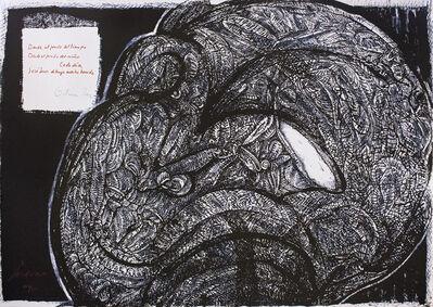 "Jose Luis Cuevas, '""Placard Cuevas-Paz 1976""', 1976"