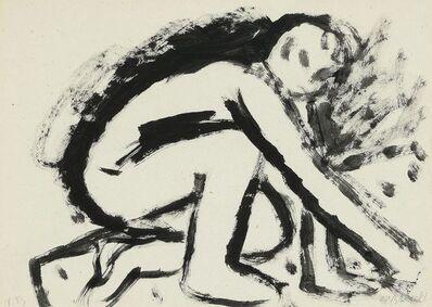 Miquel Barceló, 'Man painting', 1983