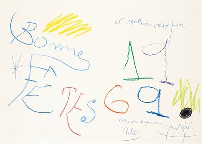 Joan Miró, 1969