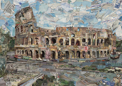 Vik Muniz, 'Postcards from Nowhere: Rome', 2014