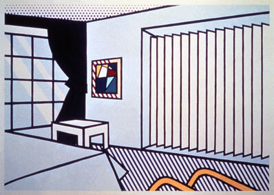 Roy Lichtenstein, 'Bedroom', 1990