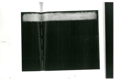 Ana Teles, 'Mark Rothko Untitled p.200 - 201', 2014