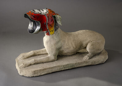 Michael Lucero, 'Guard Dog Barking'