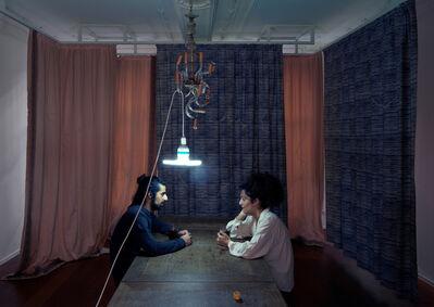 Stéphanie Saadé, 'Re-Enactment LB, Chandelier', 2012