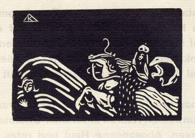 Wassily Kandinsky, 'Reiterin und Kind', 1907