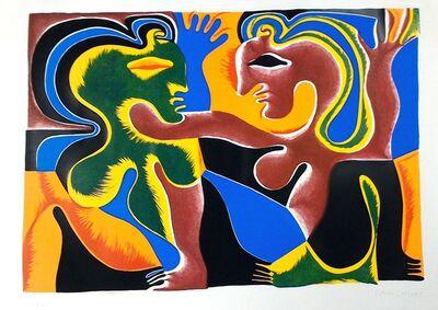 Fritz Baumgartner, 'Lovers', ca. 1970