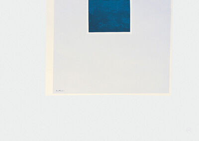 Robert Motherwell, 'London Series II: Untitled (Blue/Pale Blue)', 1971