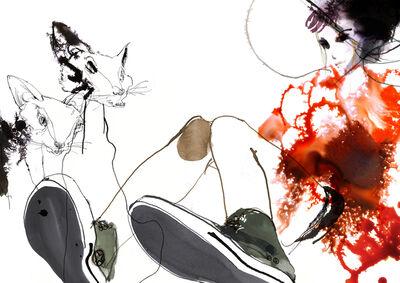 Daniel Egnéus, 'Cats', 2014
