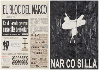 Camilo Restrepo, 'El Bloc Del Narco #6', 2016