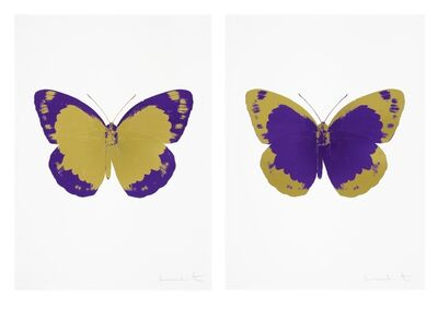Damien Hirst, 'The Souls II - Oriental Gold/Imperial Purple/Blind Impression and The Souls II - Imperial Purple/Oriental Gold/Blind Impression', 2010