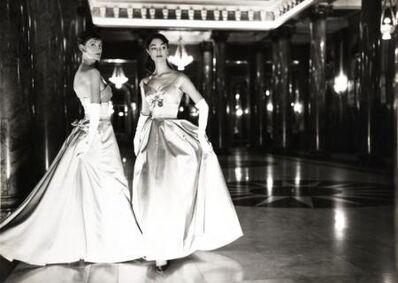 Norman Parkinson, 'Wenda Parkinson and Marla Scarafia in Monte Carlo', 1956