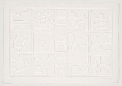 Louise Nevelson, 'Dawn's Clouds', 1977