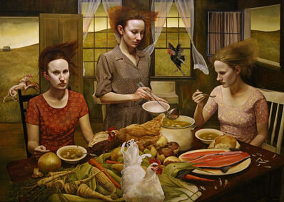 Andrea Kowch, 'The Feast - Limited Edition Signed Print'