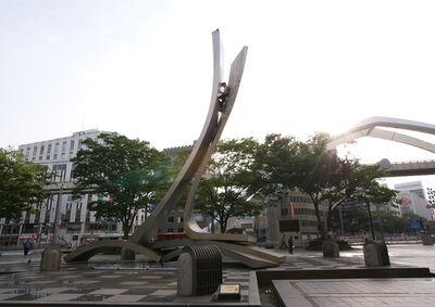 Ryota Kikuchi, 'stuck', 2011
