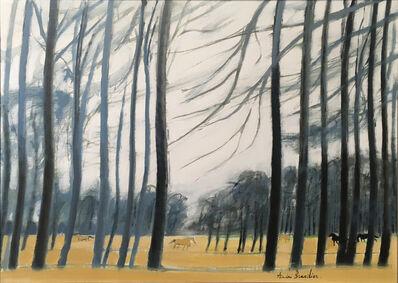 Andre Brasilier, 'Paysage d'Anjou', 1979