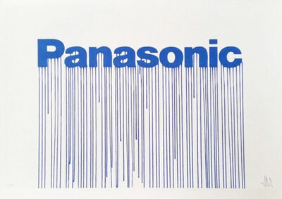 Zevs, 'Liquidated Panasonic (from Liquidated London set)', 2012