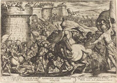 Antonio Tempesta, 'The Death of Abimelech', 1613