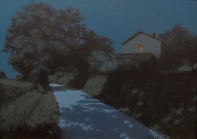 Kevin Sanders, 'Moonlit Road', 2013