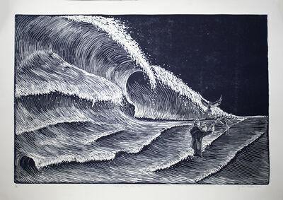Yailen Sellén, 'Batir de alas entre olas / Beat wings between waves', 2019
