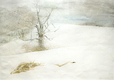 Andrew Wyeth, 'Fallen Deer', ca. 1999