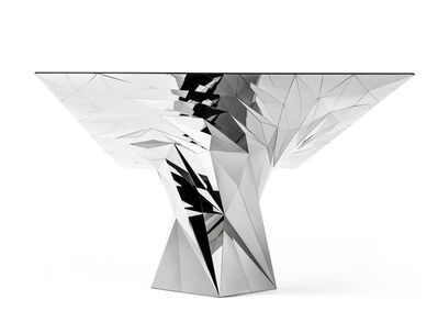 Zhoujie Zhang, 'Tornado (SQN7-T) Stainless Steel Table', 2011