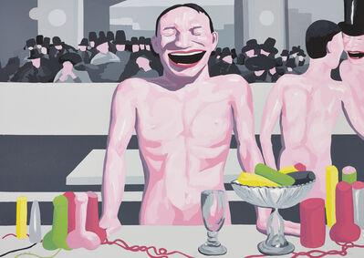 Yue Minjun, 'You're so Manet', 2001